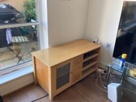 Wooden tv cabinet stand