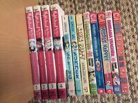 Job Lot of 12 Japanese Manga Graphic Novels/Comics/Collectibles.