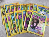 KIDS national geographical magazines x20