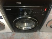 SAMSUNG 7/5KG BLACK WASHER DRYER USED
