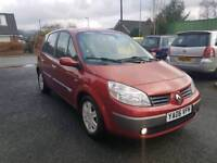 2006 RENAULT SCENIC 1.4 DYN NEW CAMBELT FITTED F.S.H S.KEYS ALLOYWHEELS TOP SPEC