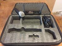 Shure digital wireless microphone and reciever