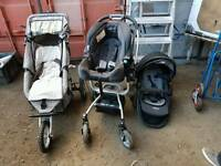 Graco tri logic system and buggy pushchair etc