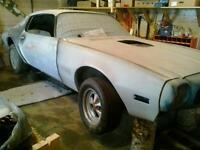 1971 firebird project