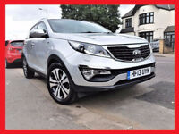 (47000 Miles) -- 2013 Kia Sportage 2.0 CRDi -- Automatic -- KX-3 AWD -- Navigation -- Full Leather -