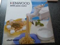 Kenwood Chef Pasta Maker attachment