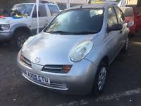 2005 nissan micra 1.2 e cheap tax n insurance low low mls superb cond ideal first car part ex clernc