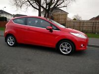 2012 Ford Fiesta 1.25 Zetec – FULL YEAR MOT, 6 MONTHS WARRANTY, FULL SERVICE HISTORY, LOW INS.