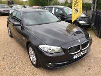 2011 BMW 520d 2.0 SE EFFICIENTDYNAMICS SALOON GREY SALOON LOW MILES HIGH SPEC