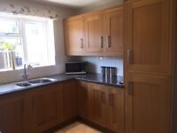 SOLD Oak framed kitchen units (used) available from 3rd August.