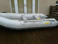 Inflatable boat&engines EXCEL SD365 yamaha 25hp and 6hp outboards high speed inflator and much more!