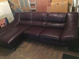 Big Corner Sofa Purple