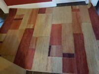 Large luxurious rug
