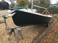 Sandweaver 16 sailing boat Dinghy