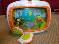 Jungle cot soother