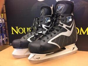 Patins à glace hommes grandeur 12 Ferland F200 ***Excellente Condition*** #F023963