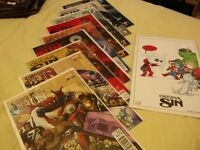 Lot of 18 Marvel comics Original Sins