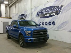 2015 Ford F-150 Lariat Sport W/ Twin Panel Moonroof, Leather