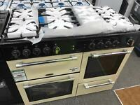 New Graded Leisure Cookmaster CK110F232 Dual Fuel Double Oven Cooker - Cream RRP £1,100.00