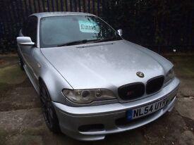 "BMW 330cd M SPORT +PRIVACY GLASS+GERMAN CSL 19""ALLOYS+FULLY LOADED+ELECTRICS+BIG SPEC+BLACK LEATHERS"