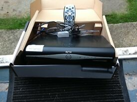 Sky+hd box with remote and all wires