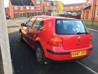 EXCELLENT CONDITION 67K MILES RED GOLF