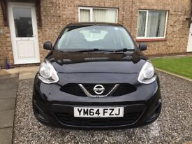 Nissan Micra, 1.2 Visia 5dr, 64 Plate. VERY GOOD CONDITION