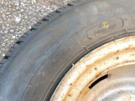 Trailer tyre - brand new - 145R12c.