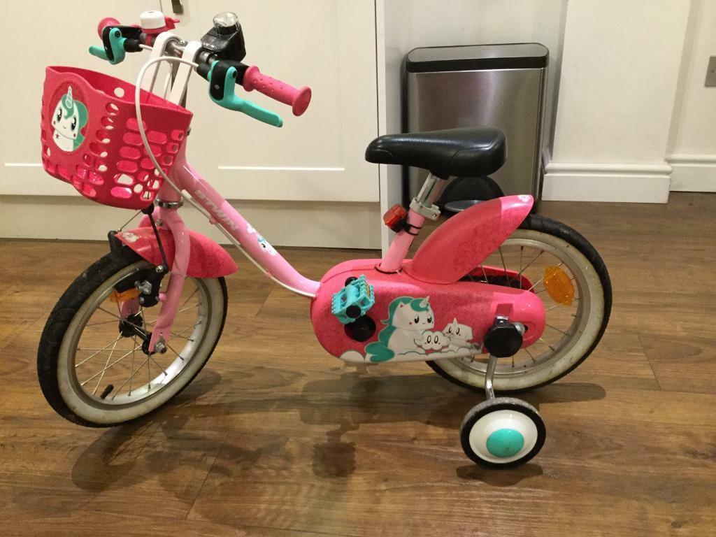 32b210c94285 Girl s bike - pink - 3 to 4.5 years