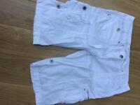 Ladies summer shorts size 16 NEXT