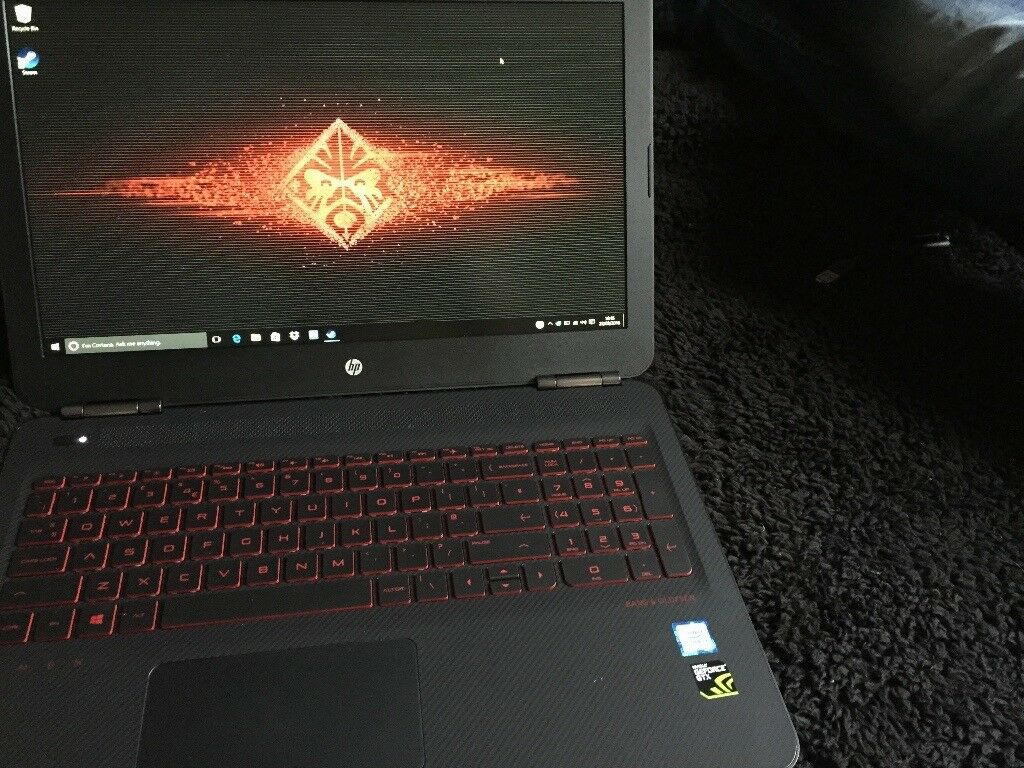 Gaming Laptop HP Omen i7 8gb ram