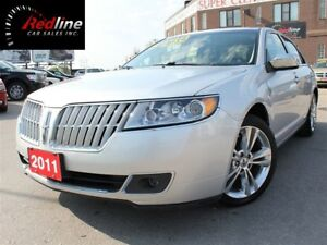 2011 Lincoln MKZ Bluetooth-Heated/Cooled Seats-Sunroof