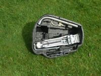 Vw Golf 4, 2002, Tool tray including jack and all tools in foam tray. Fits under spare wheel. £5