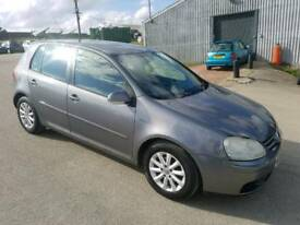 2007 VOLKSWAGEN GOLF 1.9 TDI MATCH 5 DOOR HATCHBACK GREY