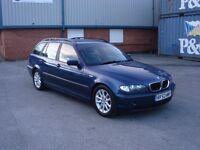 2003 BMW 3 Series 320d ES Touring Blue 5-door estate For Sale, PX or Swap