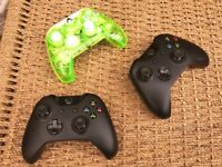 3 Xbox 1 Controllers for Spares / Repairs