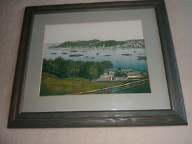 Framed Prints of Old Oban.