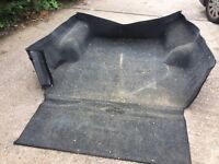 Nissan navara / d22 double cab bed rug butt liner - can post