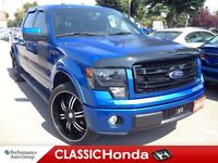 2013 Ford F-150 FX2 CLEAN CARPROOF LEATHER SEATS NAVIGATION BACK