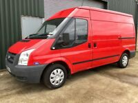 FIRST CLASS VAN 2008 FORD TRANSIT IN THE RARE T300 mwb semi high roof big bhp110 low miles