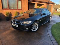 BMW E92 320d M Sport Coupe - Full Black Leather Interior - Heated Seats - Full Service History