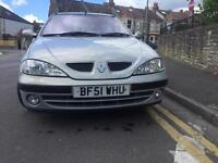 2001 silver Renault Megan Fiji edition 1.4 16v CD player, alloys BT, 12 months mot 144k