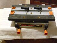 Black & Decker Jobber - bench mounted workmate