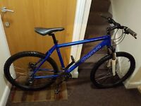 Carrera Valcun Mountain Bike with 26 wheel size and 20 inch frame size