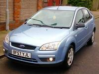 FORD FOCUS STYLE 1.6 AUTOMATIC FULL YEARS MOT 3 MONTHS WARRANTY
