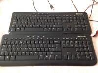 Microsoft Keyboard x 2