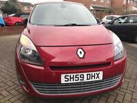 2009 RENAULT GRAND SCENIC 1.9 DCI PRIVILEGE - CAMBELT DONE - HISTORY
