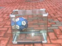 Clear glass fish tank aquarium 20L wembley kot
