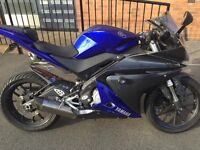 Yamaha R125 2014 (cat c been repaired)