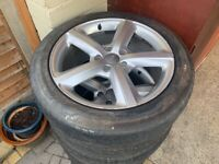Audi 20inch alloy wheels (prev on q7)